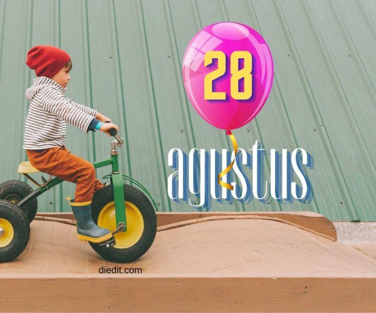 karakter orang lahir 28 agustus