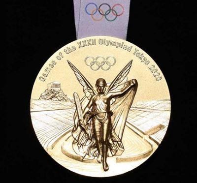 gambar desain medali olimpiade