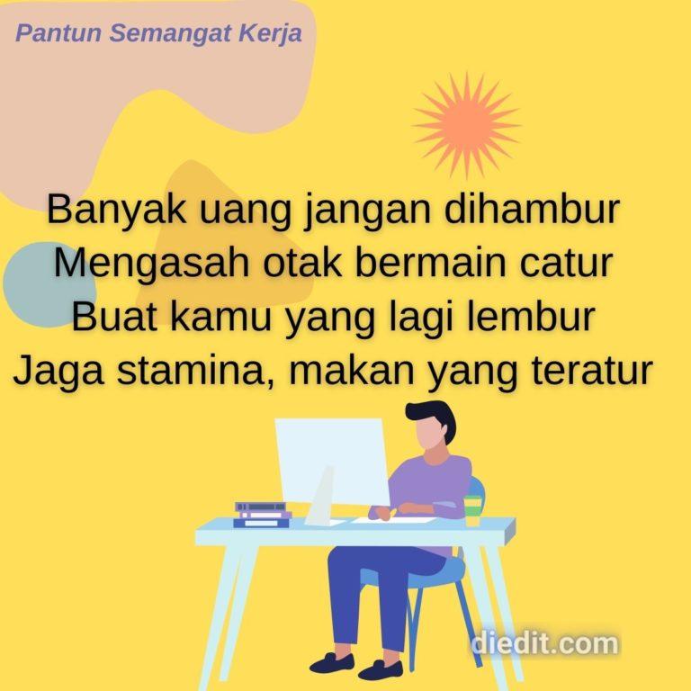 pantun semangat kerja