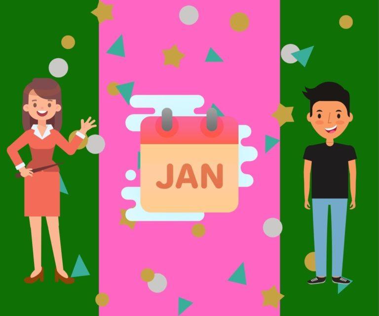 sifat watak lahir januari