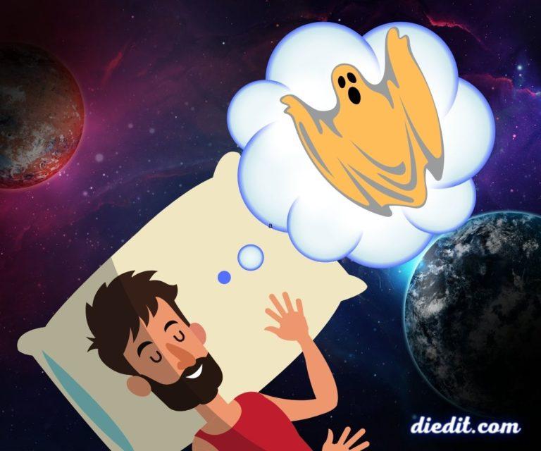 arti mimpi melihat hantu